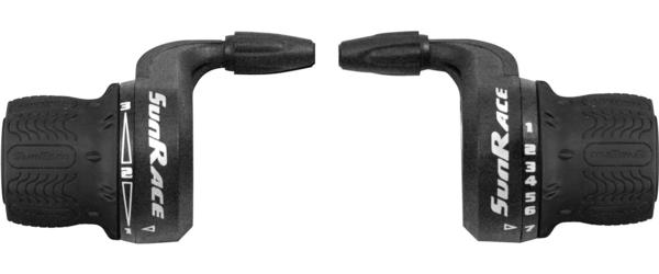 SunRace TSM27 5/6/7, 3-SP Twist Shifter