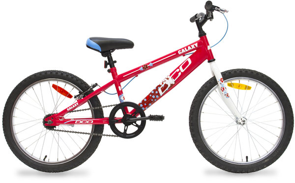 "DCO Galaxy 20"" Girl's Coaster Bike Color: Pink/Silver"