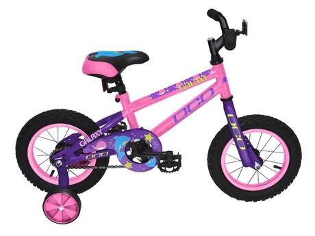 DCO Girls 12in Childrens Bike