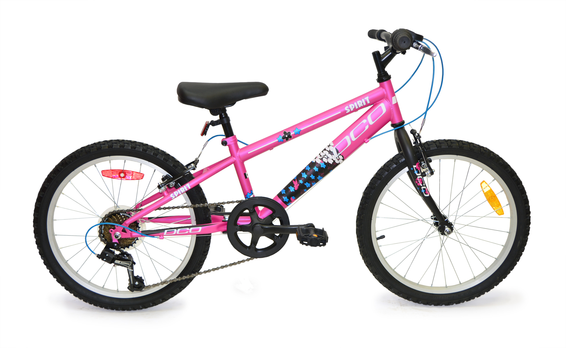 DCO Spirit 20in Girls Childrens Bicycle