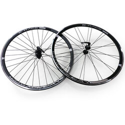 K-Race 700C PRO Black Wheelset - Sealed Bearing