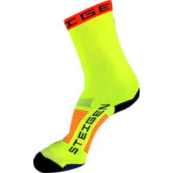 Steigen Fluro Yellow 3/4 Length Sock