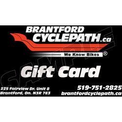 Brantford Cyclepath Gift Card