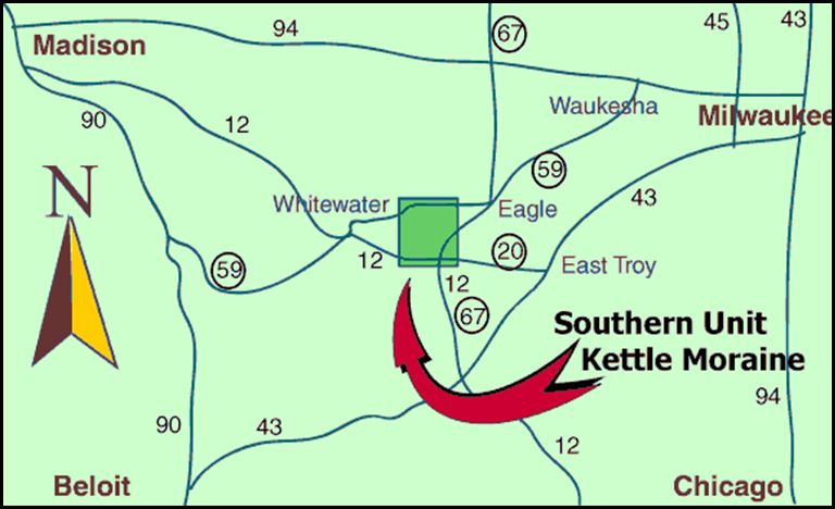 Kettle Trail Map