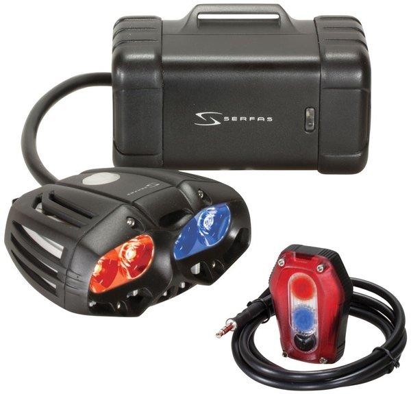 Serfas TSL-Police Headlight/Taillight System