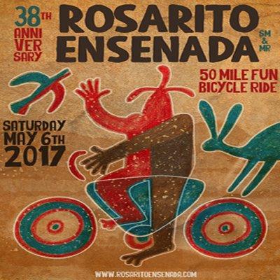 Rosarito Ensenada bike ride logo