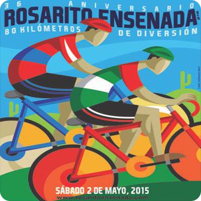 Rosarito Ensenada 2015 bike ride logo