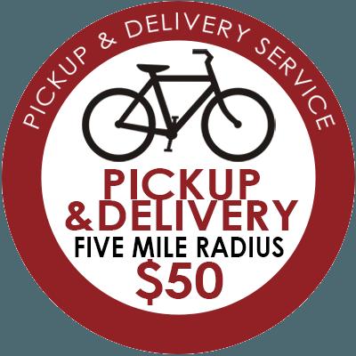 Pickup & Delivery - 5 Mile Radius - $50