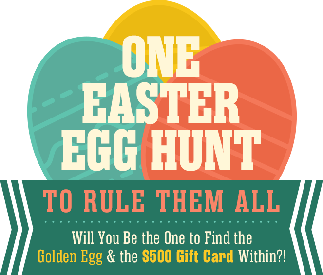 The Easter Egg Hunt To Rule Them All