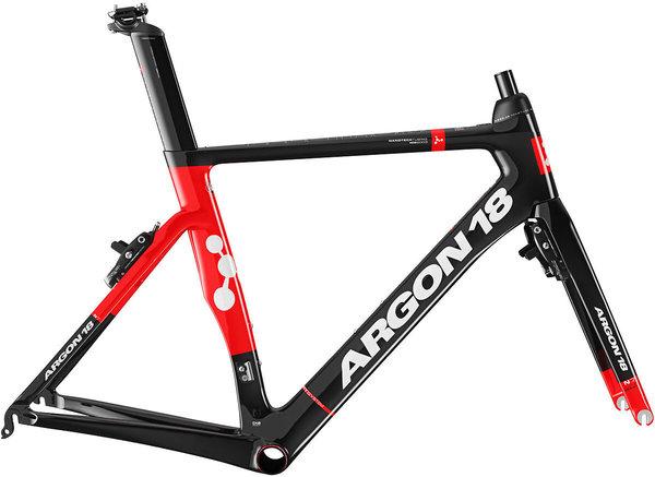 Argon 18 Nitrogen Black/Red Rim Brake