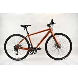 Salsa Salsa Journeyman Flat Bar Claris Alloy Hybrid Bike Small Copper