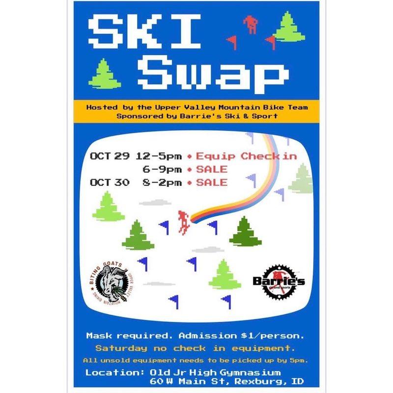 Ski Swap Oct 29 & 30