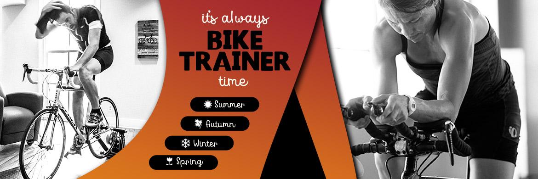 Bike trainers for all seasons