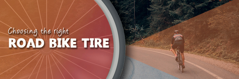 Choosing the right road bike tire