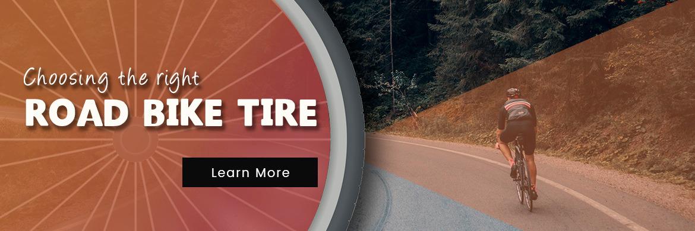 Choosingt he right road bike tire