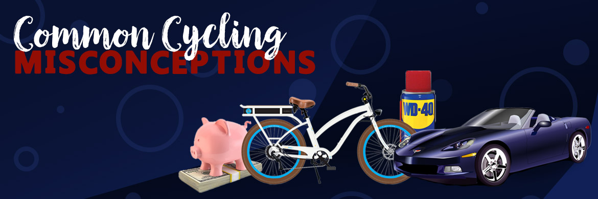 Common Cycling Misconceptions