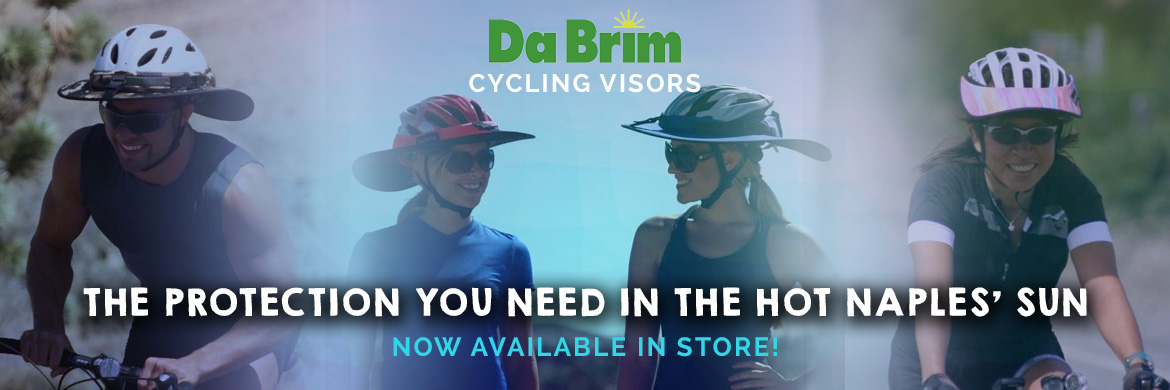DaBrim visors now available at Naples Cyclery