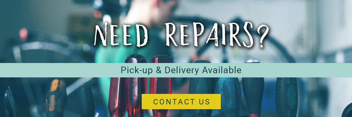Pick-up & Delivery available for bike repairs at Naples Cyclery