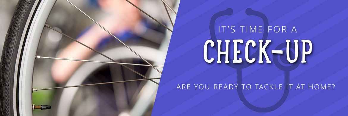 Time for a spring bike check-up