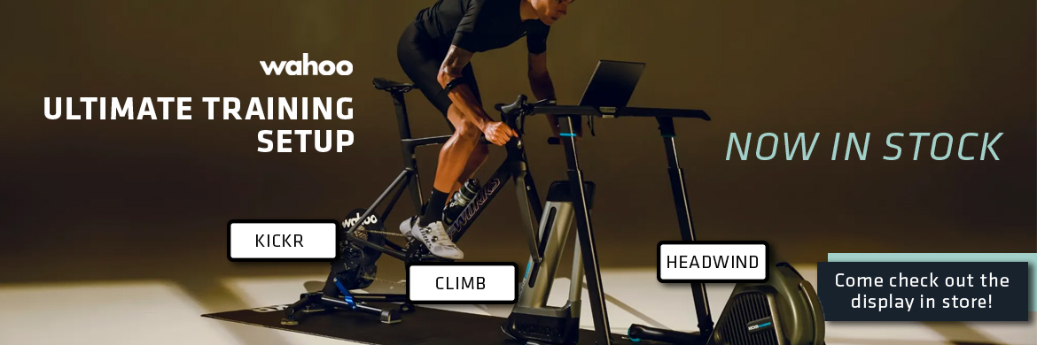 Wahoo Trainer Setup Now in Stock!
