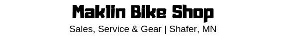 Maklin Bike Shop Logo