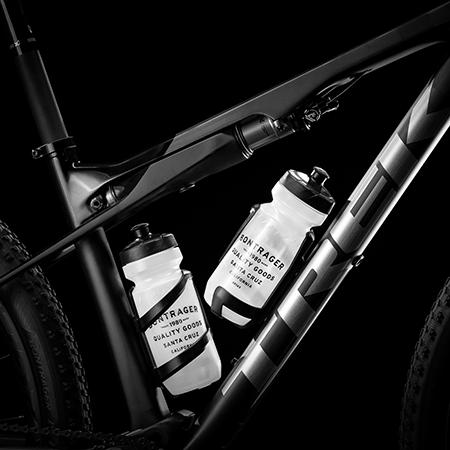 A studio photo of Trek bike accessories