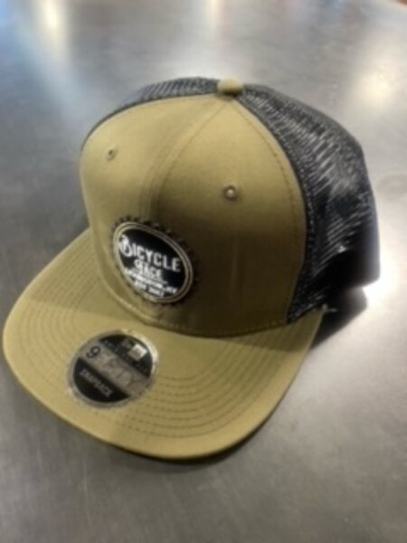 Bicycle Face Bicycle Face Army Taupe/Black Trucker Cap/Hat