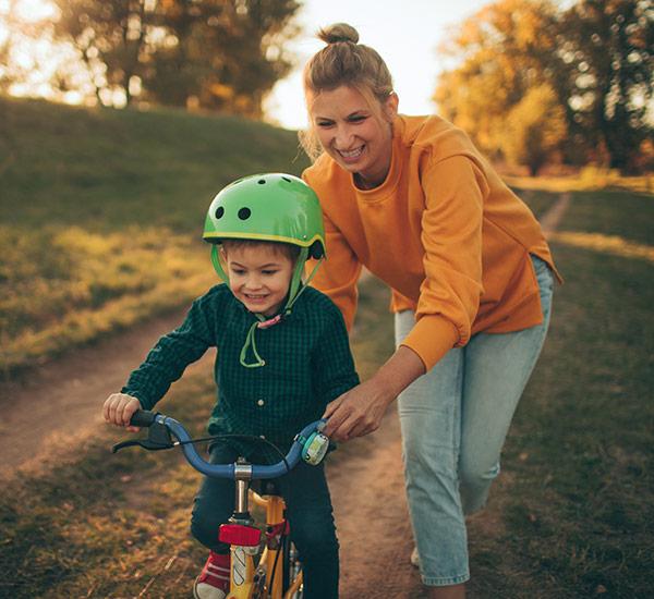 Children's bikes are fun!