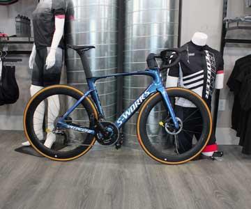 Specialized bike display