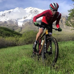Jay on his Epic Hardtail