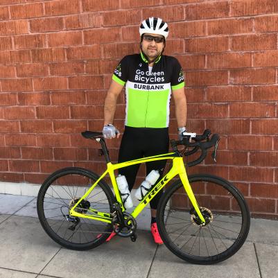 Marc with bike