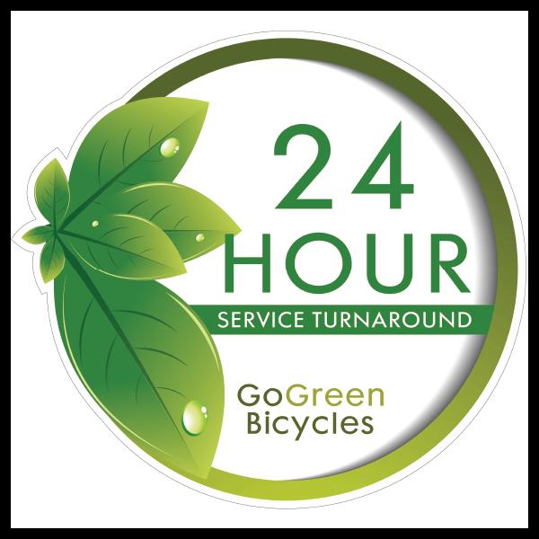 24 hour service turnaround