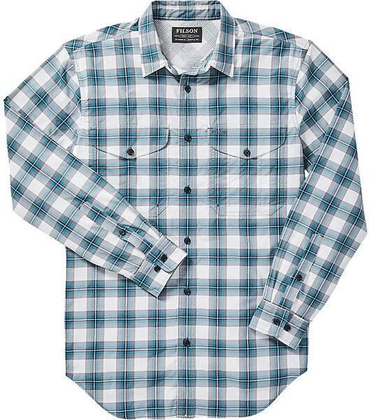 Filson M's Twin Lakes Long Sleeve Sport Shirt