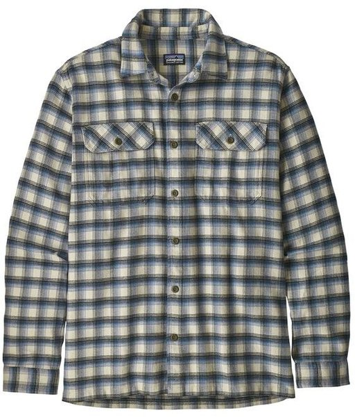 Patagonia M's Long-Sleeved Fjord Flannel Shirt