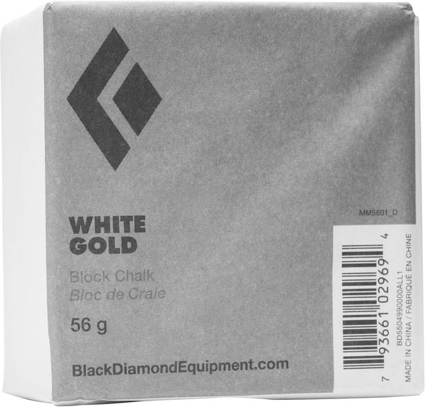Black Diamond 56G White Gold Chalk Block