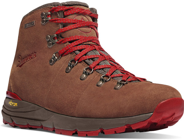 Danner W's Mountain 600 Color: Brown / Red