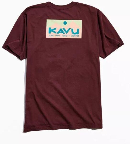 KAVU M's Klear Above Etch Art T-Shirt