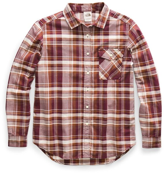The North Face W's Long Sleeve Boyfriend Shirt