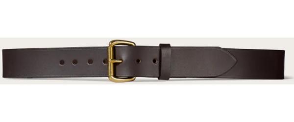 "Filson 1-1/2"" Bridle Leather Belt"