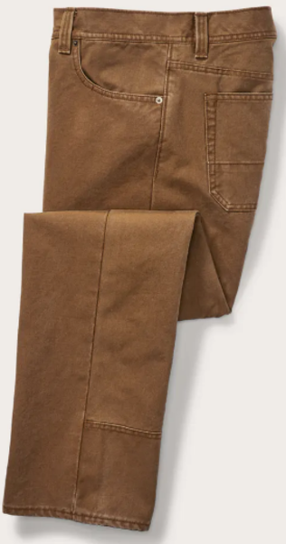 Filson M's Dry Tin 5 Pocket Pant Color: Whiskey