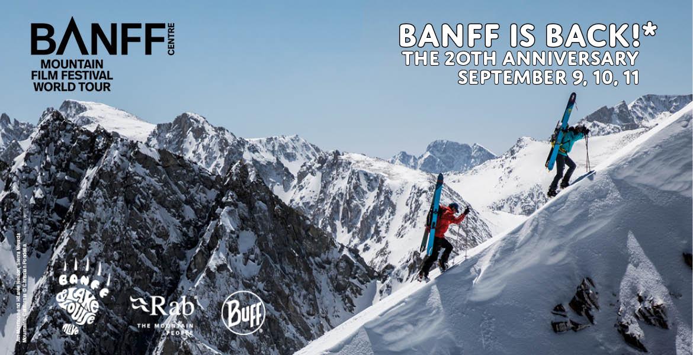Banff Mountain Film Festival Graphic