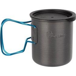 Olicamp Space Saver Mug Blue With Lid