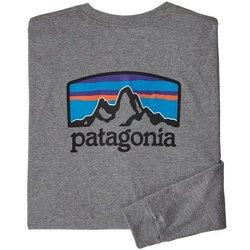 Patagonia M's Long-Sleeved Fitz Roy Horizons Responsibili-Tee