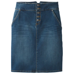 Prana W's Aubrey Denim Skirt