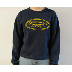 Sunflower Unisex Cotton Blend Pullover Sweatshirt