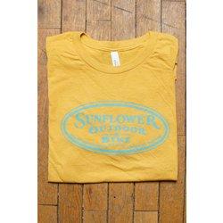 Sunflower Sunflower Short Sleeve Oval Logo