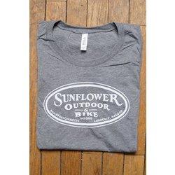 Sunflower Ladies Sunflower Oval Tee
