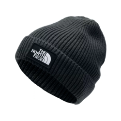 The North Face TNF Logo Box Cuffed Beanie