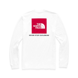 The North Face M'S LONG-SLEEVE RED BOX TEE