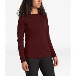 The North Face W PRESTA LONG-SLEEVE CREW